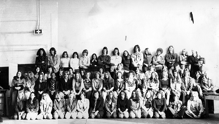 Foundation Students 1974-75