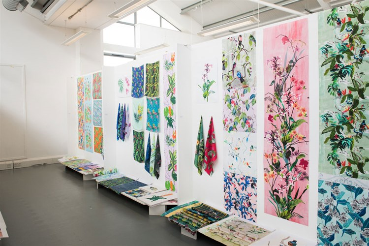 Fabric Exhibition Stand Here Alone : Students showcase work at new designers leeds arts