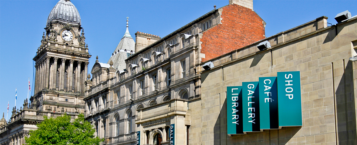 Leeds Art Gallery Header