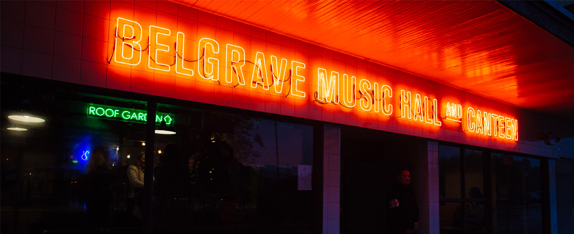 Belgrave Music Hall - Header