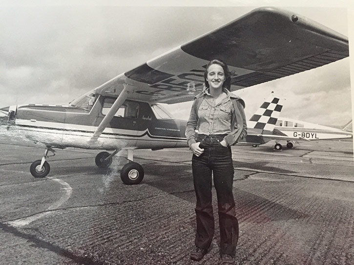 Madeleine Westbrook, Pilot Mother