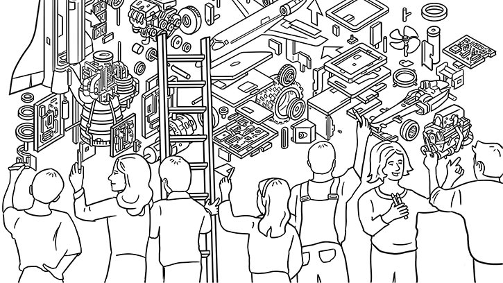 Engineering Colouring Book content 1